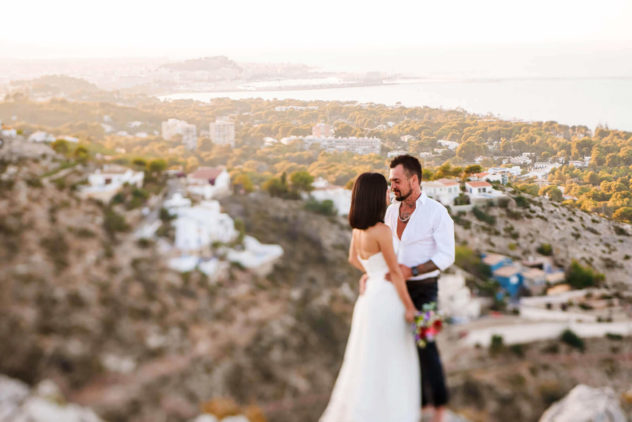Fotografo de boda Denia torre del gerro