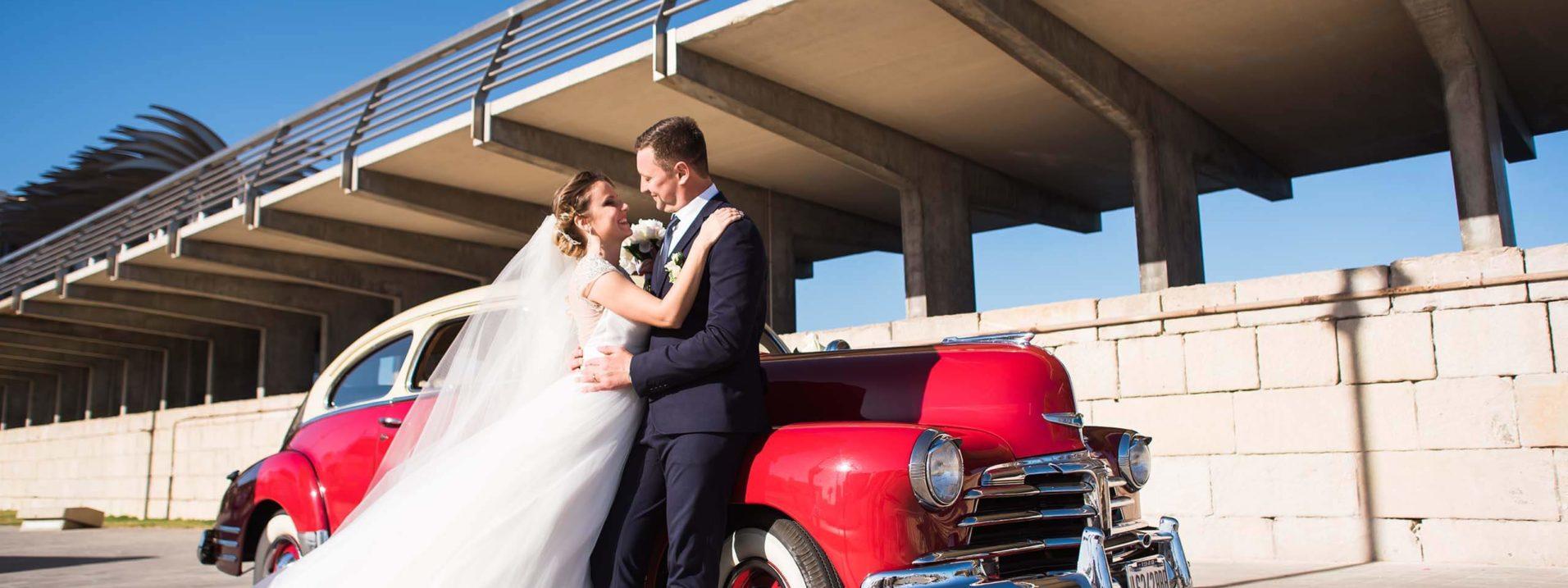 Fotografo de boda Alicante coche