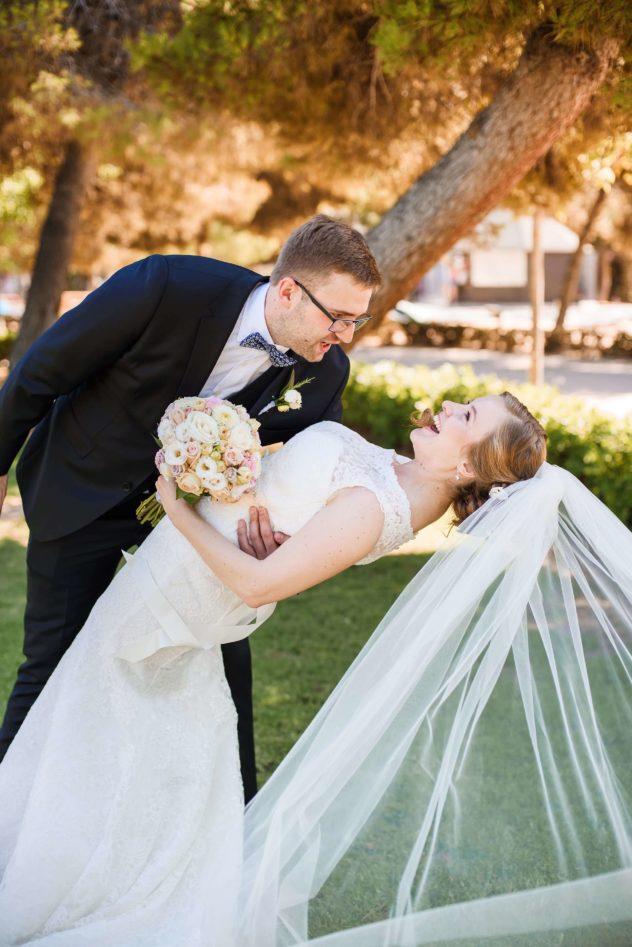 Fotografo de boda Torrevieja novios