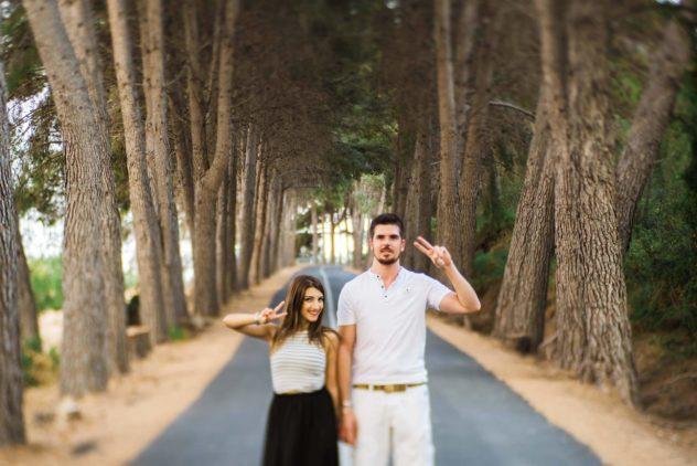 Fotografo de pre boda Guadalest