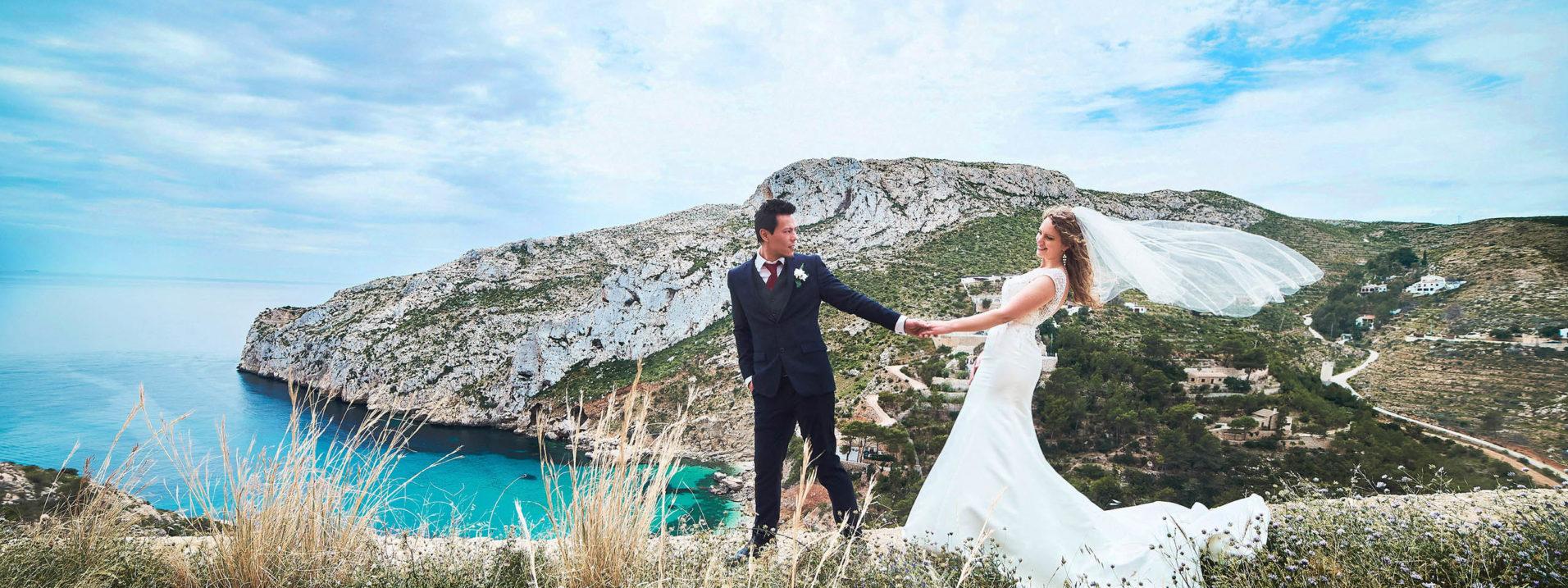 fotografo de boda en Javea Denia